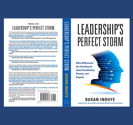 Leadership's Perfect Storm book cover